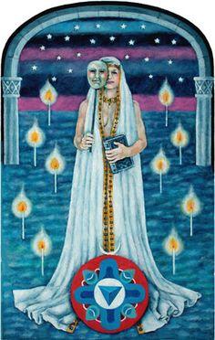 The Jungian Tarot: The High Priestess high priestess tarot images - Google Search