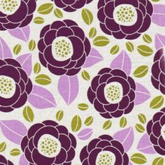 Bloom in Lilac from Joel Dewberry Fabric's Aviary 2 collection.  $8.75/yd from Hawthorne Threads #hawthornethreads.