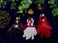 Three Little Handmade Yule by Positively Pagan Crafts https://www.facebook.com/positivelypagan/?ref=hl