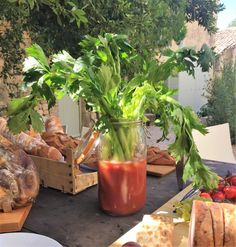 Party Bloody Mary at the Chateau by Theo Michaels #theomichaels #bloodymary #party