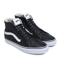 Vans U SK8-HI LX Leather (Black)