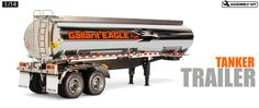 1/14 RC Fuel Tanker Trailer (Item #56333)
