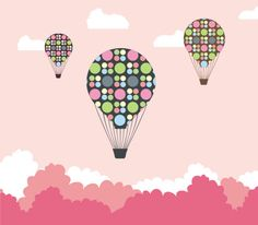 Hot air balloon quest, DryIcons.com. #balloon #hotair #colorful