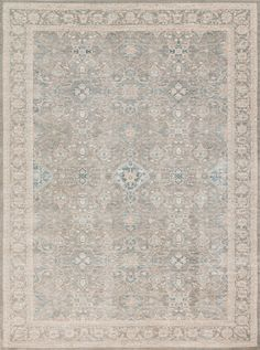 Ella Rose Steel Area Rug Magnolia Home By Joanna Gaines Designer Of Fixer Upper Showcases Quaint Country Charm With