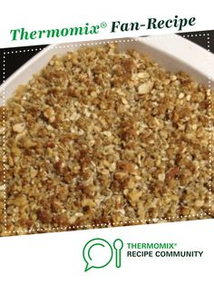 Recipe Clone of Nut Free Muesli Bar by Flicjenkins, learn to make this recipe easily in your kitchen machine and discover other Thermomix recipes in Baking - sweet. Sweets Recipes, Cooking Recipes, Healthy Recipes, Healthy Eats, Healthy Apple Crumble, Clone Recipe, Muesli Bars, Thermomix Desserts, Food N
