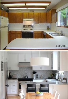awesome KITCHEN Before & After by lupita m