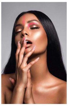 Photoshoot Themes, Photoshoot Makeup, Beauty Photoshoot Ideas, Beauty Shoot, Hair Beauty, Photographie Portrait Inspiration, High Fashion Makeup, Catwalk Fashion, Latest Fashion