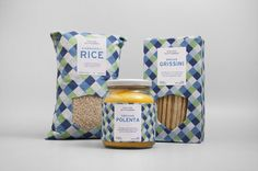 Via XX Settembre is a Italian brand that makes and distributes organic food. Packaging designed by Studio Fusentast.