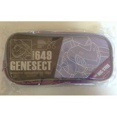 Pokemon Center 2012 Genesect Soft Pencil Case Bag