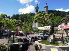 Marktplatz in Todtnau/Schwarzwald (Baden-Württemberg)
