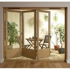 Tri-fold doors