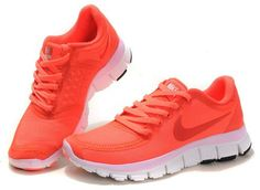low priced 779a0 3705e Nike Free 5.0 V4 Womens Pink Sneakers, Sneakers Fashion, Sneakers Nike,  Pink Nikes