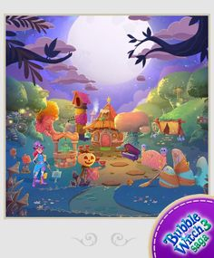 3d Background, Book Of Life, Games For Kids, Magick, Mystic, Birthday Cards, Witch, Bubbles, Comic Books