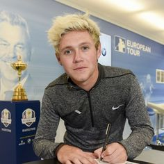 Niall is one of Team Europe's ambassadors for the 2016 Ryder Cup.