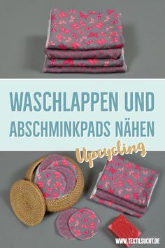 Upcycling idea: sewing off make-up pads and washcloths from fabric remnants . Upcycling idea: sewing off make-up pads and washcloths from fabric remnants craft Fabric Remnants, Fabric Scraps, Washing Clothes, Diy Clothes, Diy Upcycled Art, Diy Kleidung Upcycling, Sewing Crafts, Sewing Projects, Sewing Hacks