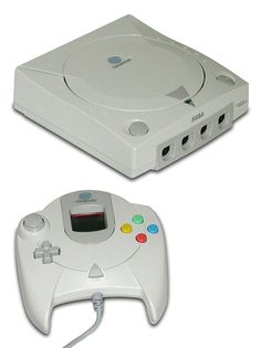 The Sega Dreamcast. I know nothing about this system and I've never even seen one before.