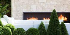 external fireplace