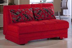 Amazon.com - Sunset Furniture Twist Story Red Loveseat -