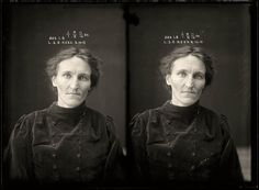 Leslie Selina Gertrude Rees, 8 October 1915 Leslie Rees was convicted of bigamy at the Moree Quarter Sessions and was sentenced to four months light labour. Women from regional centres were transferred to Sydney to serve their time. Old Photos, Vintage Photos, Vintage Photographs, Forensic Photography, Brisbane, Sydney, Black And White Portraits, Amy Lee, Mug Shots