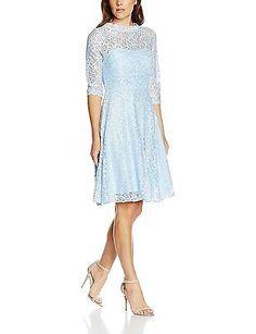 44, Blue (eisblau 051), Intimuse Women's Dress NEW
