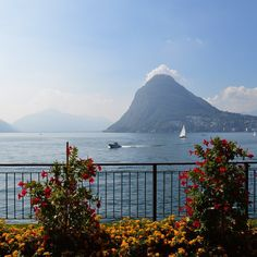 A+late+summer+weekend+view+on+lake+Lugano+in+Switzerland+and+Monte+San+Salvatore+which+I+also+explored+via+cable+car!