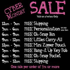 Thirty One Gifts Cyber Monday