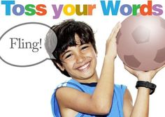 Child says a word and throws the ball (or beanbag) to another student who says what they know about the word. The second student then says another word and throws the ball on.  Variation: in the definition phase, throw the ball several times, with each student adding more information.