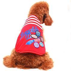 Camiseta para Cachorro Lovable Vermelha Gutti Pet - MeuAmigoPet.com.br #petshop #cachorro #cão #meuamigopet