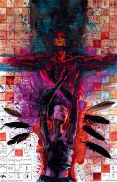 DAREDEVIL #53 / Daredevil and Echo by David Mack