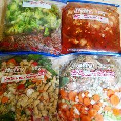 7 Slow Cooker Freezer Meals 2 Quiche 52 servings
