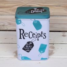 BSTIN95 - Receipts Tin