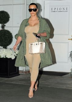 Kim Kardashian in Givenchy Sheer Gown - Kim Kardashian Fashion Photos