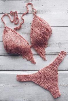 Best Free Crochet Bikini Patterns 2019 – Page 39 of 46 – womenselegance. com – Crochet Débardeurs Au Crochet, Free Crochet, Lingerie Crochet, Motif Bikini Crochet, Crochet Bathing Suits, Crochet Clothes, Crochet Outfits, Crochet Projects, Free Pattern