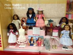 Living A Doll's Life : *In Store Report* Visit to AGP - Boston and Tyson Stores