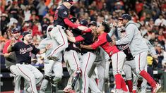 The Washington Nationals have clinched their first World Series title after defeating the host Houston Astros in Game 7 on Wednesday night at Minute Maid Park. World Series Game 7, First World Series, Bryce Harper, Washington Nationals, Rafael Nadal, Cleveland Indians, Chicago Cubs, Dodgers, Mlb