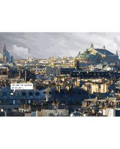 Sunshine 100 x 140 cm,  Philippe Matine - Tirage d'art sur toile - Chromatiko.fr