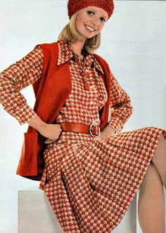 Nina Ricci, L'Officiel magazine 1974