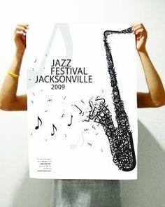 jacksonville jazz festival posters | Jacksonville Jazz Festival Poster