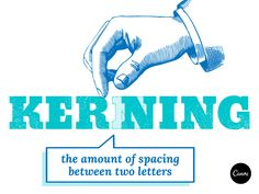 In this article, we talk about the definition of kerning and its importance in design. Learn more about kerning here, and start kerning like a pro! Graphic Design Programs, Graphic Design Typography, Type Anatomy, Photography Exhibition, Branding, Photoshop Tips, Typography Quotes, Graphic Design Inspiration, School Design