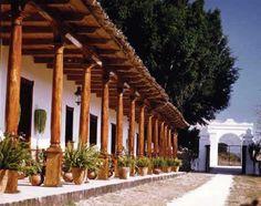 Chiapas, La Trinitaria, Parador-Museo Santa Maria, Corredor con Geranios - Foto por Parador-Museo Santa Maria.jpg (600×473)