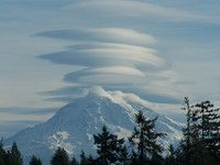 Mt. Rainier - view from our dream home