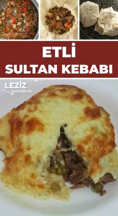Etli Sultan Kebabı – sağlıklı yemekler – The Most Practical and Easy Recipes Meat Recipes, Dinner Recipes, Cooking Recipes, Turkish Recipes, Ethnic Recipes, Kebab, Yummy Food, Tasty, Iftar
