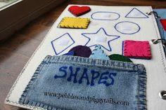 Pebbles and Piggytails: Quiet Book Ideas