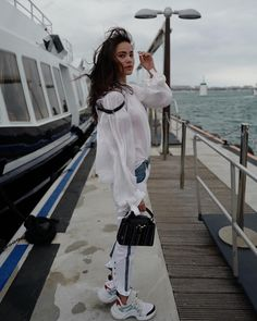 Urassaya Sperbund (Instagram): #lvcruise #louisvuitton #lvthailand Thai Princess, Korean Music, Beautiful People, White Dress, Vogue, Louis Vuitton, Hollywood, Photoshoot, Style Inspiration