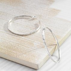 Silpada 'Circle Up' Sterling Silver Hoop Earrings, 2' *** Want additional info? Click on the image. #Jewelry #SterlingSilverHoops