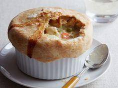 Chicken Pot Pie - Makes 4 Individual Pot Pies - From Food Network's Barefoot Contessa!