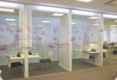 Phone rooms for recruitment? We could use move-able partitions to create a larger space when we need it