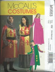 5f9081ec4c Men s  amp  Misses Renaissance Costume Pattern by DawnsDesignBoutique