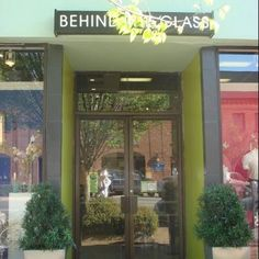Behind the Glass Clothing & Gifts in downtown Auburn