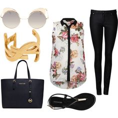 A fashion look from July 2014 featuring women's plus size blouses, skinny jeans and flat shoes. Browse and shop related looks. Jeans And Flats, Plus Size Blouses, Get The Look, Flare, Fashion Looks, Skinny Jeans, Chic, Simple, Polyvore